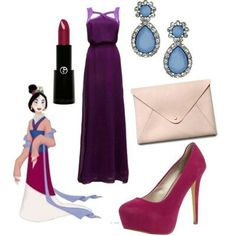 Disney character movie outfits princess polyvore Gurl clothing prom