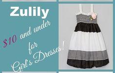 Zulily Girls' dresses under $10!