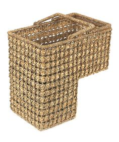 Look at this Braided Rope Stair Basket on #zulily today!