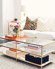 Terrace Coffee Table At West Elm – Coffee Tables – Accent Tables – Living Room Tables I loved my ikea table but it was time to update, I have been eyeing this table… Ikea Table, Ikea Glass Coffee Table, Coffee Table Storage, Coffee Table Styling, Coffee Table Books, Plywood Furniture, Furniture Design, Unique Furniture, Bedroom Decor