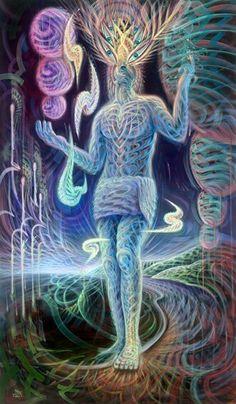 All Is Energy  Frequency #visionaryart #art #trippy