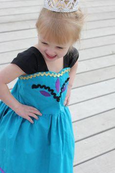 Elsa Coronation dress Inspired