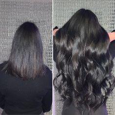 Black Hairextensions Hair Extensions, Long Hair Styles, Beauty, Black, Hair Colors, Weave Hair Extensions, Extensions Hair, Black People, Long Hairstyle