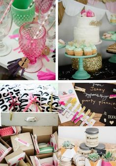 Favorite things party by Jenny Cookies for Eat More Dessert! Via Kara's Party Ideas KarasPartyIdeas.com