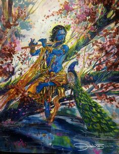 In each note of His flute lay the symphony of all eternity. Be lost today in love for Krishna and hear that symphony