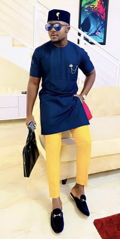African men clothing African men outfit, African Dashiki, Dashiki for men, African attire. African Wear Styles For Men, African Shirts For Men, African Dresses Men, African Attire For Men, African Clothing For Men, African Style, African Outfits, African Clothes, Nigerian Men Fashion