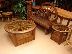 Resultado de imagen para muebles con troncos de arbol