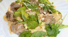 špecle s mesov.guličkami Beef, Chicken, Food, Meat, Meals, Ox, Yemek, Buffalo Chicken, Eten