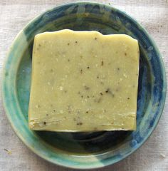 Gardeners Soap  Herbal Soap  Scrubby Soap