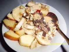 Müsli mit frischem Obst, Herbst-Winter Version