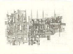 "Saatchi Art Artist John Cline; Drawing, ""Untitled I"" #art"