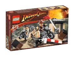 Amazon.com: LEGO Indiana Jones Motorcycle Chase: Toys & Games