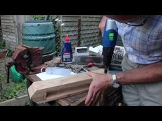 How to Make a Leatherworkers Clamp or Stitching Pony - YouTube