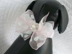 Wedding Dog Collar Great  Wedding  or Adoption Dog Cat Custom Order