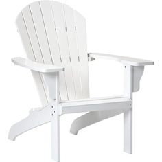Adirondack Chair in Outdoor Lounging | Crate and Barrel