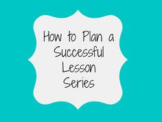 sticky notes and notebooks: How to Plan a Successful Lesson Series: Informal Assessments