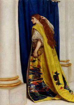 (Esther, c. 1865, John Everett Millais)