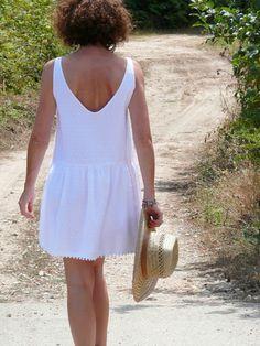 Aime comme Mistral version robe, plumetis et pompons - bmade