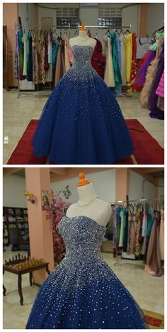 New Arrival Prom Dress,Modest Prom Dress,Sparkly Beaded Sweetheart