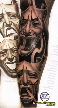 80 Tatuagens de Palhaço incríveis para você se inspirar - Fotos e Tatuagens Cholo Tattoo, Chicano Tattoos Sleeve, Red Ink Tattoos, Scary Tattoos, Forarm Tattoos, Dope Tattoos, Badass Tattoos, Leg Tattoos, Body Art Tattoos