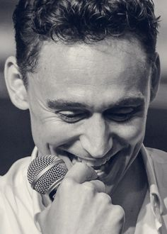 Tom Hiddleston - he has an adorable humbleness about him, a very attractive quality!