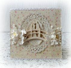Handmade  wedding card  romantic card  couple by CarmenHandCrafts