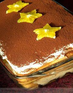 Gesztenyés-narancsos tiramisu | Hungarian Cake, Cake Cookies, Food And Drink, Cooking Recipes, Health Fitness, Sweets, Cheese, Snacks, Ethnic Recipes