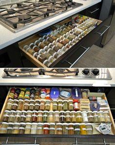 kitchen island organization   Digital image of Small Kitchen Organization Ideas Pics close up view