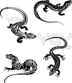 ящерица рисунок - Поиск в Google