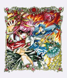 Magic Knight Rayearth, Clamp