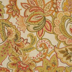 Singapore Honey by RM Coco Curtain Fabric, Curtains, Jacobean, How To Memorize Things, Things To Sell, Singapore, Swatch, Honey, Rugs