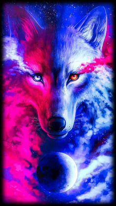Download 2 face wolf wallpaper by The_editor_21022 - 62 - Free on ZEDGE™ now. Browse millions of popular blue Wallpapers and Ringtones on Zedge and personalize your phone to suit you. Browse our content now and free your phone Cute Galaxy Wallpaper, Wolf Wallpaper, Animal Wallpaper, Wolf Pictures, Animal Pictures, Wolf Background, Cute Backgrounds For Iphone, Anime Wolf Drawing, Galaxy Wolf