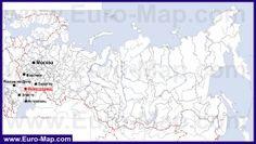 Волгоград на карте России