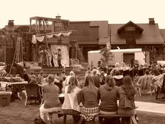 Shakespeare in the Parks - Big Sky Town Center. Shakespeare In The Park, Big Sky Montana, Parks, Events, In This Moment, Parkas