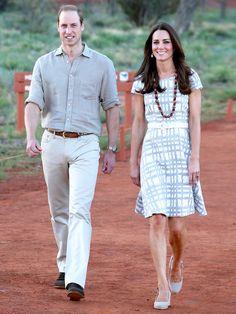 ウィリアム王子とシックなペアコーデ