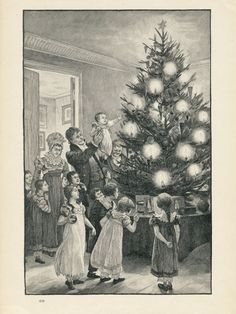 Christmas in the Netherlands, 1899