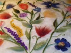 Beautiful! I can't wait to see it felted!