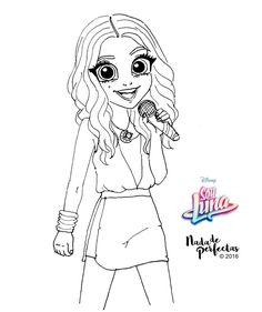 Otro de mis dibujos de @karolsevillaofc! foto promocional de la gira #SoyLunaEnConcierto! Me encantó el vídeo live de Karol! Dijo que haría más!  Muy pronto los dibujos de el elenco de Soy Luna  sobre la gira! Ya están disponibles algunos de los...