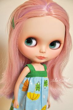 Blythe - I loved this doll! It had eyes that changed colours- very trippy.