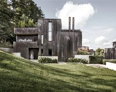 Modern houses by meier architekten Architecture Images, Architecture Magazines, Contemporary Architecture, Modern Houses, Form, House Design, Modern Home Design, Modern Homes, Modernism