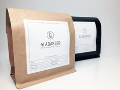 Alabaster Coffee Roaster + Tea Co. has recently released a line of Cascara Tea that borrows on their minimalist-chic coffee packaging (previously featured here).