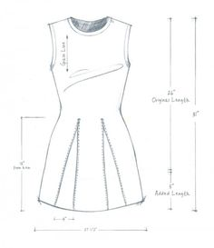 DIY T-SHIRTS + MODIFICATIONS - GODET SHIRT - alabama chanin