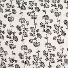 We love this antique white and black floral silk print that closely resembles vintage wallpaper. Just think about using it for a great little dress possibly teamed up with another print and we assure you, YOU won't be a wallflower! Softness prevails. This delicate fabric with it's soft drape will be a saving grace when you want something with up-to-the-minute vintage styling. Note that the momie of this fabric is 16mm.