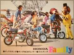 HONDA Z50A, DAX AND PC50