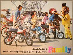 Honda Dax and Monkey (Japanse)