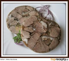 Czech Recipes, Snack Recipes, Snacks, Food 52, Sausage, Recipies, Stuffed Mushrooms, Pork, Food And Drink