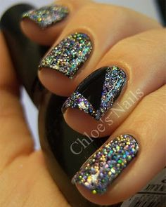 Oh Dear Bob!  I want this glitter.   Funky Fingers Sand and Stillettos