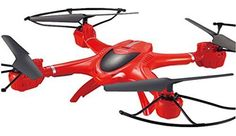 MJX X400-V2 2.4G 4ch RC Drone Quadcopter 6 Axis Gyro UAV 3D Roll FPV Real-time Transmission Helicopter with C4005 0.3MP HD Camera (Red) by MJX - http://www.midronepro.com/producto/mjx-x400-v2-2-4g-4ch-rc-drone-quadcopter-6-axis-gyro-uav-3d-roll-fpv-real-time-transmission-helicopter-with-c4005-0-3mp-hd-camera-red-by-mjx/