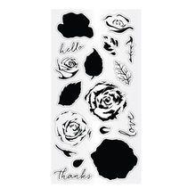 Hampton Art™ Clear Layering Stamps, Roses