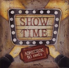 Show Time Art Prints by Kim Lewis Wall Prints, Fine Art Prints, Decoupage Printables, Atc Cards, Vintage Labels, Time Art, Retro, Decoration, Altered Art